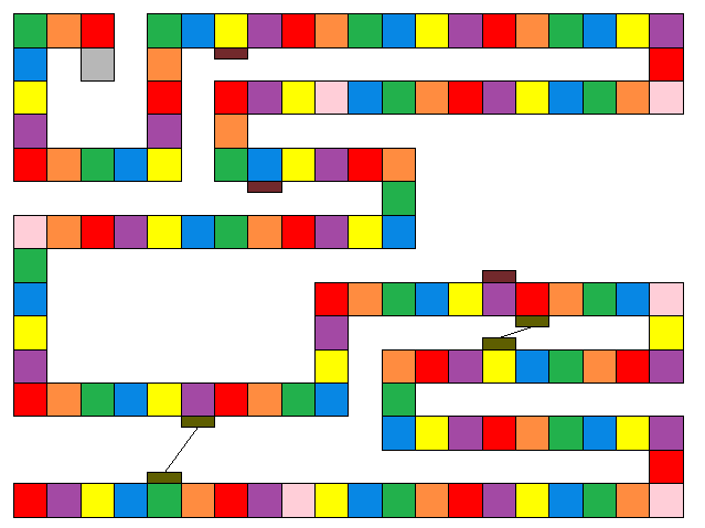 Candyland card template