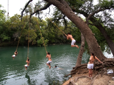 Optimal Rope Swing